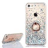 Yobby Coque iPhone 6 Plus,Coque iPhone 6S Plus Fine Luxe Glitter Sables Mouvants...