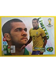 Panini Adrenalyn World Cup 2014 Brazil - Alves Brazil limited Edition