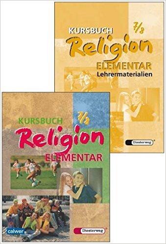 Kombi-Paket: Kursbuch Religion Elementar 7/8 Schülerbuch und Lehrermaterialien von Wolfram Eilerts (Herausgeber),,Heinz-Günter Kübler (Herausgeber) ( 25. Oktober 2010 )