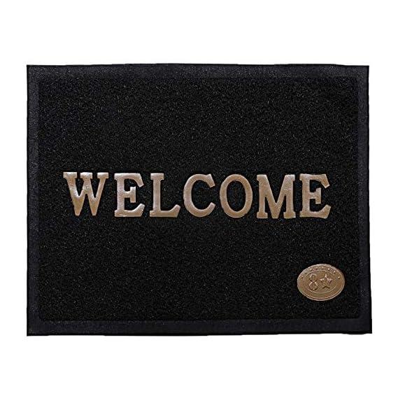 Ace International Exports Dust Removal PVC Welcome Bathmat/Bath Mat/Door Mat for Home/Bathroom/Shop/Restaurant Pack of 1