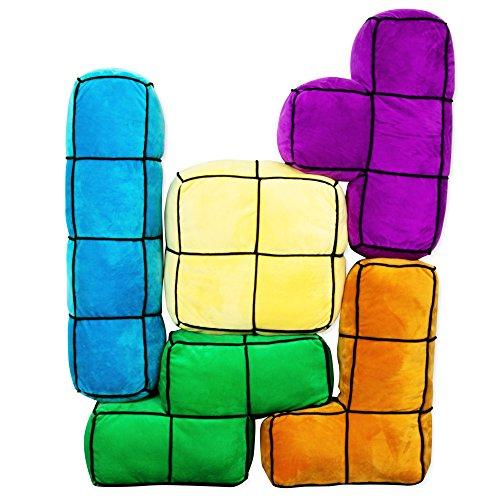 getdigital-arcade-block-kissen-5er-set-5-grosse-bunte-und-flauschige-3d-arcade-retro-gaming-kissen-m