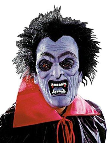 Karneval-Klamotten Dracula Maske Vampir Maske Vampir Dracula Zubehör Halloween Karneval