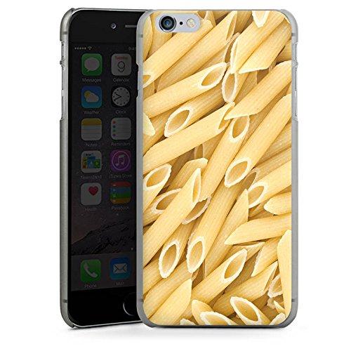 Apple iPhone X Silikon Hülle Case Schutzhülle Nudeln Penne Food Hard Case anthrazit-klar