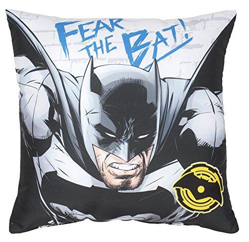 BATMAN VS SUPERMAN-Cuscino quadrato, poliestere, multicolore