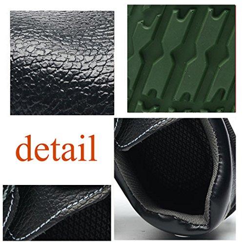 Hommes Chaussures de travail,Femmes Bottines de Sécurité ,Chaussures de sécurité avec embout de protection en acier et semelle de protection noir-188