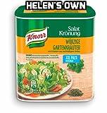 Knorr Garden Herb Salad Dressing Vinaigrette Container for 2.1 L - Full English Instruction Booklet Included - Knorr Würzige Gartenkräuter Salat Krönung