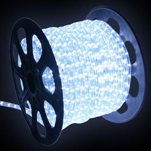[Golden Tulip®] LED Lichtschlauch Lichterschlauch 12m Weiss Innen/Außen