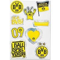 Borussia Dortmund BVB 09 BVB-Aufkleberkarte glitzernd