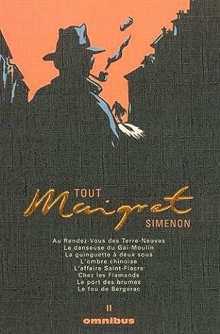 Simenon Maigret - Tout Maigret, tome