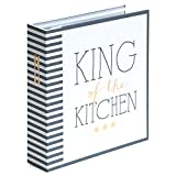 Rezeptordner'King of the Kitchen' im A5-Format