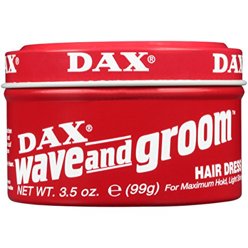 DAX Wave & Groom Hair Dress 3.5oz RED