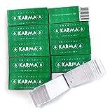 Karma 10 opuscoli Perforati Fatti a Mano biodegradabili Regolari Punte del Filtro