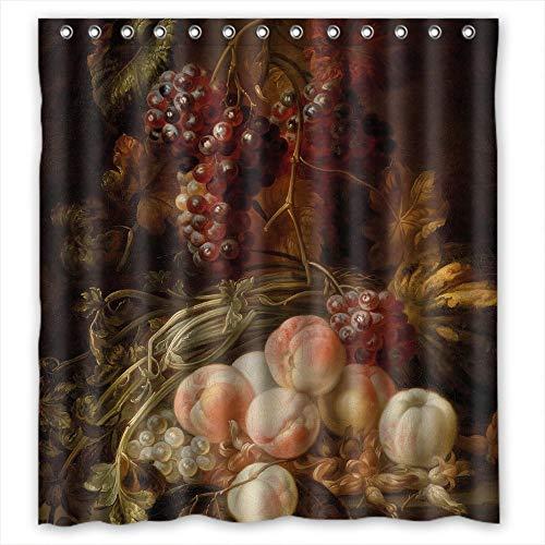 artsplaza berühmten Classic Art Gemälde Blumen Blüten Polyester Weihnachten Dusche Vorhänge Breite x Höhe/167,6x 182,9cm/W H 168von 180cm für BF Teens Verwandte ihn Vater. Wasserabweisend. F