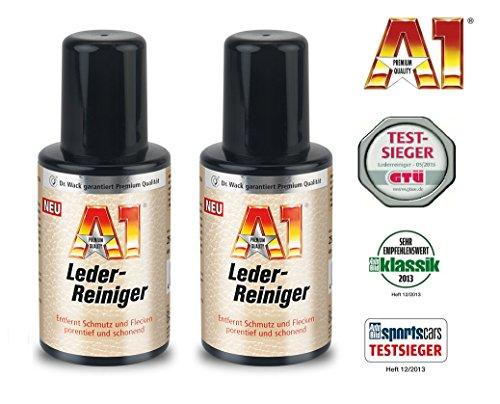 A1 2 x 250 ml Dr Wack LEDERREINIGER Leder Reiniger