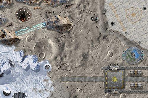 STIKKIPIX® Espacio Universo Mapa Mundo Alfombra Infantil