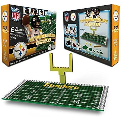 OYO Sportstoys NFL Pittsburgh Steelers Mini Figures Endzone Set