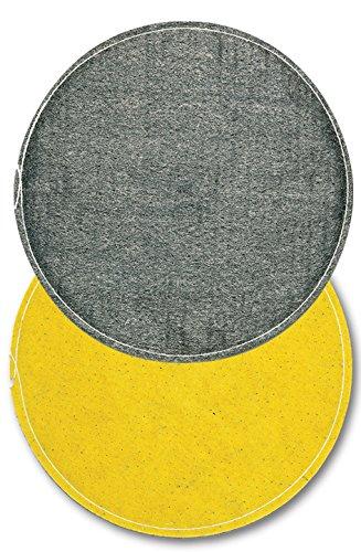 Disco de lana de acero inoxidable Diam. 430con Soporte (Fibra, Disco Pulidora Profesional monospazzola duralit, Disco Pulidora ideal para cristallizzare el mármol, de uso con líquido, Art 501