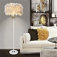 LightSei- Feder Fußboden Lampe E27 LED Kristallmetall modernes dekoratives Geschenk Wohnzimmer Hochzeits Raum... preisvergleich bei billige-tabletten.eu