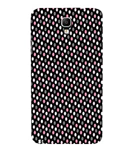 Brownish Pink Dotted 3D Hard Polycarbonate Designer Back Case Cover for Samsung Galaxy Note 3 Neo N7505