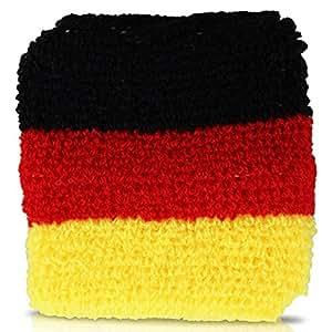 Deutschland Schweißband 2er Set WM/ EM