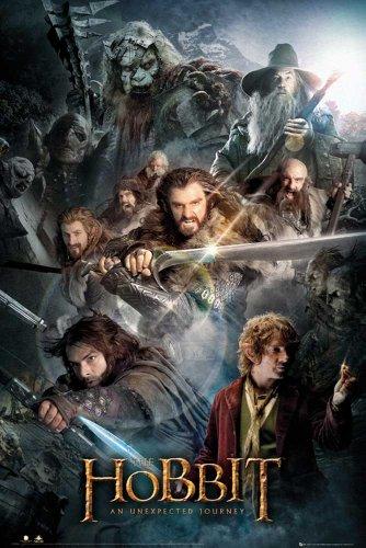 empireposter - Hobbit, The - Collage - Größe (cm), ca. 61x91,5 - Poster, NEU - Der Hobbit - Eine unerwartete Reise