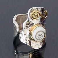 Anello d'argento – anello tribal