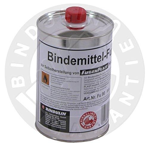 Bindemittel FU zur Selbstherstellung von Fugenplast Holzkitt (900g = 1046ml Flasche) -