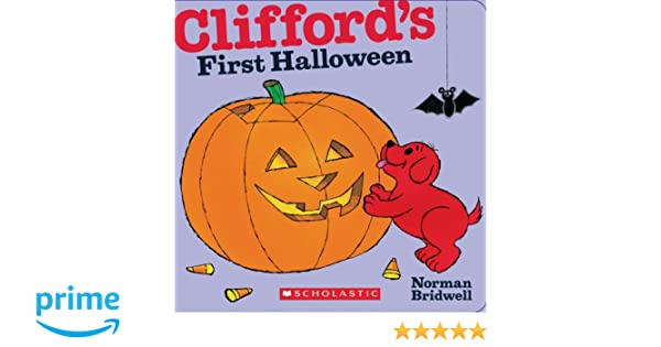 cliffords first halloween clifford the big red dog amazoncouk norman bridwell 9780545217743 books