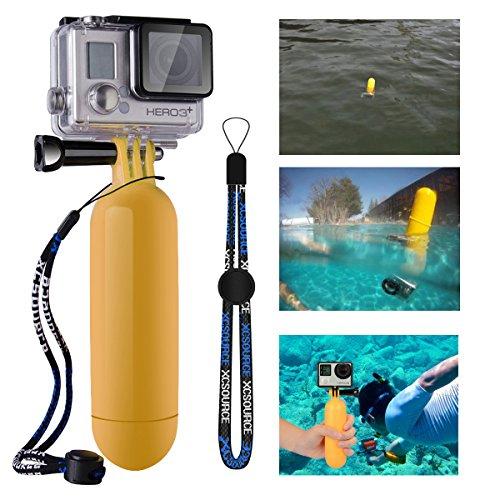 Características: Profesional flotabilidad barra personalizada palo de mano, está diseñado para GoPro héroe 1 2 3 3 + 4 SJ4000 SJ5000 y utilizarse en temporizador deportes acuáticos (por ejemplo: buceo, snorkel, surf, natación, pesca, etc.) Tiene un c...