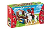 PLAYMOBIL Flamenco Horse with Stall Play Set by Playmobil - Cranbury