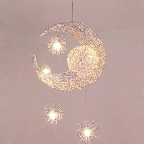 Luce appesa a led paralume in alluminio lampadario creativo plafoniera moderno lampada da soffitto bianco caldo luce del pendente contemporanea illuminazione decorativa luce da pranzo Ø40cm 15w