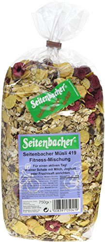 Seitenbacher Müsli Fitness-Mischung, 3er Pack (3x 750 g Packung) -
