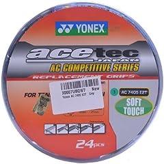 Yonex AC 7405 E2T  Pack of 2  Rubber Badminton Grip