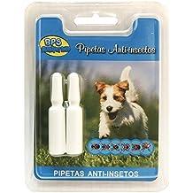 BPS Pipetas Repelentes Material Naturales para Perros Gatos Mascotas Anti Ácaros Pulgas Garrapatas Insectos Voladores Parásitos