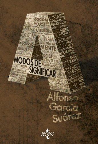 Portada del libro Modos de significar: Una introducción temática a la filosofía del lenguaje (Filosofía - Filosofía Y Ensayo)