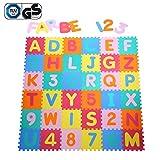 Yorbay Puzzlematte EVA Schadstofffrei Kinderspielteppich Spielmatte für Kinder-Garden EVA 36 (86 Stück.)