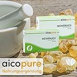 WEIHRAUCH 450 mg • Boswellia Serrata • Weihrauch Kapseln • vegan • 292,5 mg reine Boswellinsäuren • Made in Germany (60 Kapseln) Vergleich