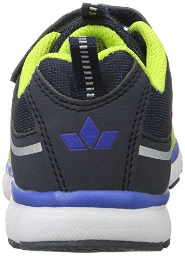 Lico Jungen Jump Vs Sneaker Gelb (Lemon/Marine/Blau)
