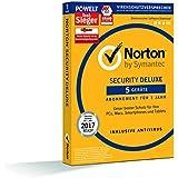 SYMANTEC Norton Security Deluxe (5 Geräte - PC, Mac, Smartphone, Tablet)