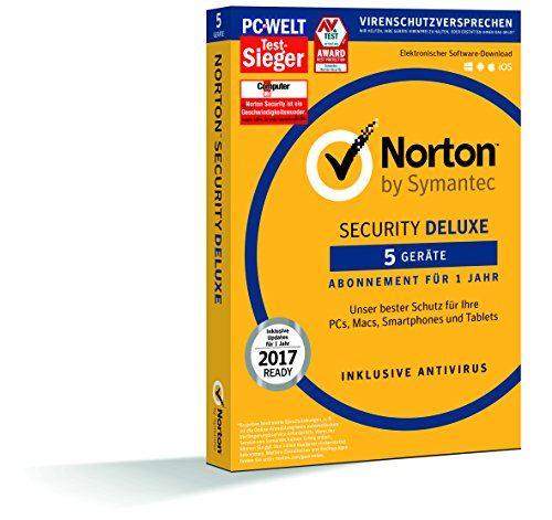 SYMANTEC Norton Security Deluxe (5 Geräte - PC,...