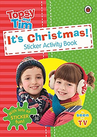 It's Christmas! A Ladybird Topsy and Tim sticker activity book (Topsy & Tim)