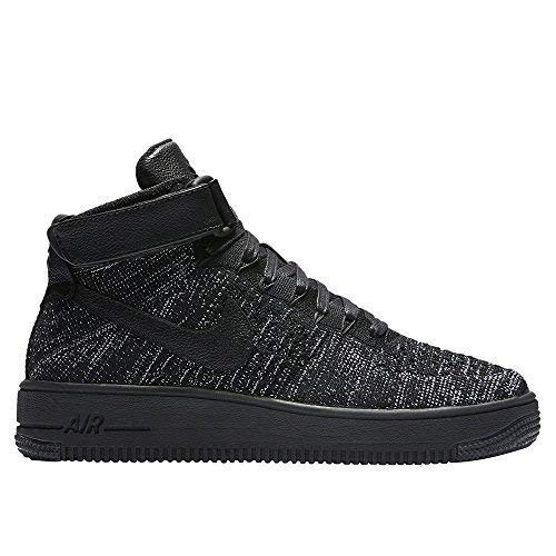 sale retailer 1ccdf cc2d6 NIKE SCARPE AIR FORCE 1 FLYKNIT 818018 002 BLACK LIMITED EDITION DONNA-37 1