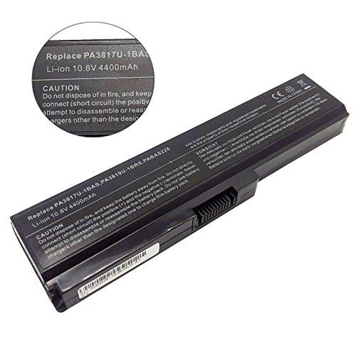 10.8V 48Wh Ersetzen Laptop Akku PA3817U-1BRS PA3818U-1BRS PA3819U-1BRS PABAS228 GC020017300 LIP6298TSPC(SY6) für TOSHIBA Satellite A660 A665 C600 C645 C650 C655 C660 L600 L630 L635 L640 L645 L655 (Toshiba-laptop-batterien)