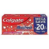 Colgate Max Fresh, Spicy Fresh Red Gel Toothpaste - 300 g