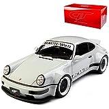 GT Spirit Porsche 911 964 RWB Duck TailCoupe Grau Rauh-Welt 1988-1994 Nr 187 1/18 Modell Auto