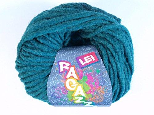 Lana Grossa Pelote à tricoter en laine mérinos 42 - Smaragd