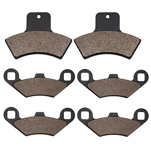 Cyleto anteriore e freni posteriori per POLARIS 400Scrambler 4x 419981999200020012002/500Scrambler 4x 41998199920002001200220032004