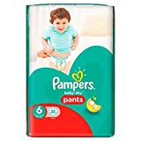 Pampers Baby Dry Pants Größe 6 Essential Pack 32 (Saphir Fashions LTD Artikel)