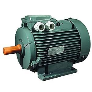 Moteur électrique triphasé 380/660 Volts 7.5 Cv 5.5 KW 1500 T/m