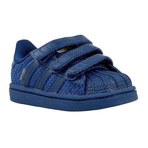 Sneaker Adidas Adidas - Superstar CF I - S76621 - Color: Azul marino - Size: 24.0